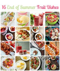 16 mouth-watering summer fruit recipes from Modern Parents Messy Kids Summer Snacks, Summer Fruit, Summer Recipes, Fruit Recipes, Vegetable Recipes, Baby Food Recipes, Healthy Snacks, Healthy Eating, Healthy Recipes
