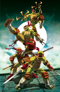 TMNT: 4 Bros by FelipeSmith - Geek Art. Follow back if similar.- #comics #art