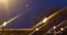 UFOLOGIA - OVNIS ONTEM: Croácia: imagens espetaculares de uma formação UFO...