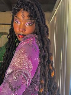 Cool Makeup Looks, Creative Makeup Looks, Black Girl Magic, Black Girls, Black Women, Black Girl Aesthetic, Aesthetic Hair, Magic Hair, Goddess Braids