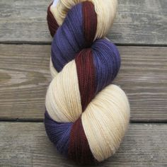 Lilacs, Russet, Wheaten - Trio | Miss Babs Hand-Dyed Yarns & Fibers, Inc.