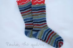 - The Quilter -: Garter Stitch Short Row Heel and Toe