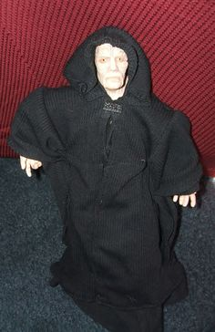 "1996 Star Wars Collectible action figure of Emperor Palpatine,12"" tall ~ $17.50"