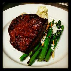 Steak Friday - 10oz Flat Iron Steak with Fingerling Potato Salad and ...