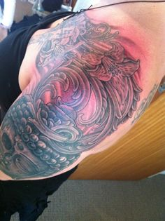Tattoo Artist Gene Martin New Zealand