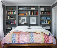 Vote For Your Favorite Colorful Room. Bedroom BookshelfBookcase  HeadboardHeadboard ...