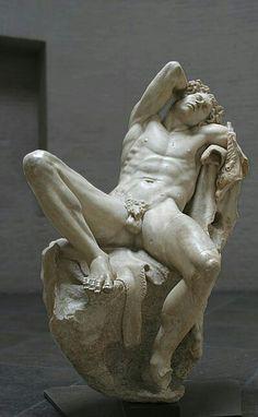 Barberini faun, autore sconosciuto. Capolavoro du probabile origine ellenica