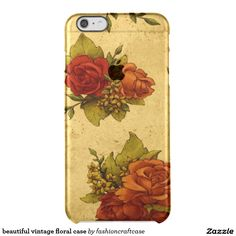 beautiful vintage floral case uncommon clearly™ deflector iPhone 6 plus case