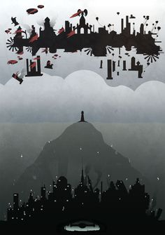 Bioshock: Two Worlds - Created by Andrew Glazar Prints available for sale at the artist's RedBubble Shop.