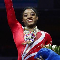 Simone Biles became the first American woman to with three consecutive national titles since Kim Zmeskal in 1990-92. This competition was not even close! August 15, 2015.