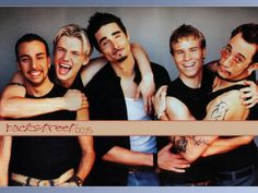 Backstreet Boys - such good times, good memories and I'll always think of @Crystal Hull when I see or hear them!