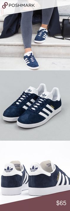 135848bbdf1a3 adidas Gazelle - Navy Brand new, in box with extra laces attached. Men s  size