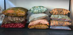 Printed Pillows By: Anna + Nina http://lokalinc.nl/