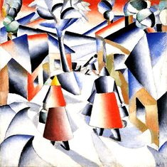 Malevich, Kandinsky, Leger, et al... 100+ years later and they still define modernism.