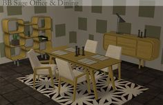 Buggy's retreat: Sage Office and Dining