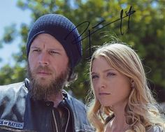 Sons Of Anarchy Cast Opie   RYAN HURST signed *SONS OF ANARCHY* 8X10 *OPIE* W/COA C