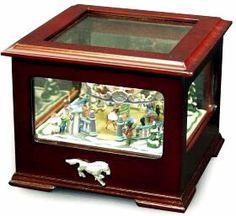 Crosley Music Box, Carousel Antique Music Box