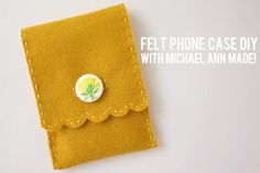 DIY Fabric Phone Case : DIY Fabric Phone Cover
