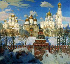 Oksana PAVLOVA - Heart of Russia. 2003. 200 Russian painters • download painting • Gallerix.ru