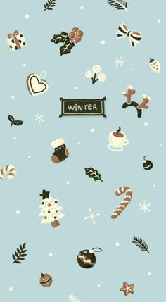 Winter iPhone wallpaper or background FREE! I love the Hunter Greens and Brown Ton . - Winter iPhone wallpaper or background FREE! I love the Hunter Greens and Brown Ton … -