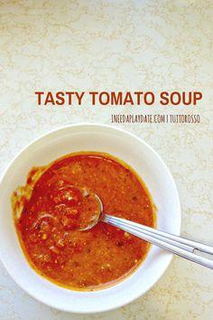 Tasty Tomato Soup #Recipe #TuttorossoRecipes #Inspiralized