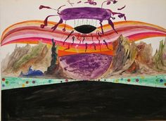 Melvin Edward Nelson - Planetary Land (1964) Source: accidental mysteries