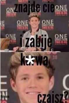 Polish Memes, Naill Horan, Mental Breakdown, One Direction Memes, 1d And 5sos, Reaction Pictures, Funny Photos, Larry, My Boys