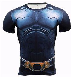 0184c0973854 Unique Batman 3D T-Shirt Men Kids Size S 5XL Marvel Full Print Stretch Best