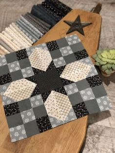a lot of quilting, home decor, gardening, recipes, grand babies & more. Star Quilt Blocks, Star Quilts, Quilt Block Patterns, Pattern Blocks, Patchwork Patterns, Quilting Tutorials, Quilting Projects, Quilting Designs, Sewing Projects