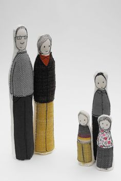 Family Sculptures 2 - Family of 5