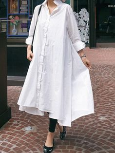 Shop Here For More Loose Casual Linen Dress, Ramie Cotton Dress,Kaftan,National Clothing. Modest Dresses, Casual Dresses, Fashion Dresses, Maxi Dresses, Church Dresses, Summer Dresses, Modest Outfits, Modest Fashion, Casual Wear