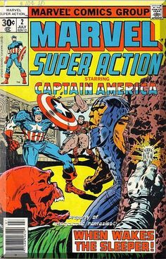 Originally Presented in Captain America (1968 1st Series) #101. Cameo by Nick Fury. Written by Stan Lee. Art by Jack Kirby and Syd Shores. Captain America faces off with his greatest enemy, the diabolical Red Skull. Can even the Sentinel of Liberty stop the awakening of the fourth Sleeper?!  Only $5.49 with Free Shipping!