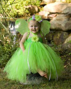 Tinkerbell Pixie Dust Tutu Fairy Costume, Halloween Costumes ...