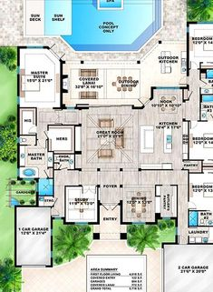 Chanel Room, Square Feet, House Plans, Coastal, Bedrooms, Floor Plans, Flooring, How To Plan, Collections
