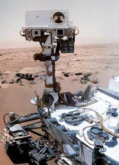 Mars rover snaps spooky portraits (Photo: NASA / JPL-Caltech / MSSS / KrisK / JMKnapp)