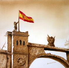 Morocco, Spanish, Empire, Tower, Building, Travel, War, Military Art, Military History
