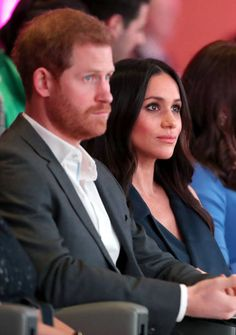 Prince Harry and Meghan Markle attend the first annual Royal Foundation Forum held at Aviva on February 28 2018 in London England Under the theme...
