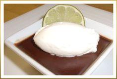 Godiva Chocolate-Lime Pots de Crème