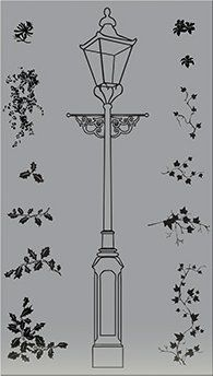 Flower Soft - Unmounted Rubber Stamps - The Lampost