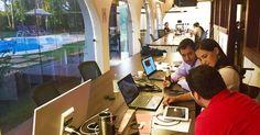 'Inspirada' no Google, empresa do DF dá jogo, piscina e happy hour a equipe