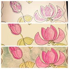 More watercolors to share! Happy Wednesday! #artsygirlstudio #nofilter #art #watercolors #princetonartbrush