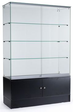 Awesome Lockable Glass Display Cabinet