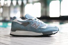 New Balance 998 Pool Blue