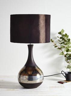 Chocolate flora Table Lamp