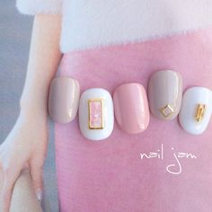 Gel Manicure Colors Long Hair 15 New Ideas Manicure Colors, Pedicure Nail Art, Toe Nail Art, Nail Colors, Minimalist Nails, Nail Swag, Nails Only, Love Nails, Gel Nagel Design