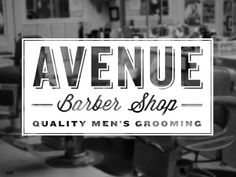 avenue barber shop