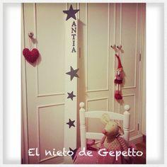 Medidor estrellas grises #elnietodegepetto