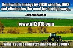 #JillStein #GreenNewDeal #StopTPP #NoFracking