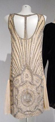 Jean Patou 1920s --Back detail