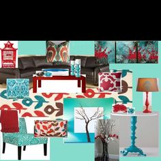 Ideas for Andria's living room... put together